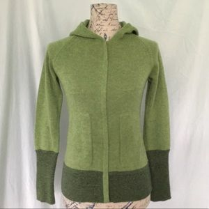 Patagonia Cashmere Hooded Cardigan